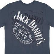 Футболка от Wrangler с коротким рукавом MJQ266H Jack Daniel's Sand