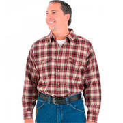 Weight Flannel Wrangler