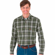 Weight Flannel Green