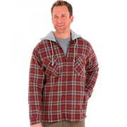 Hooded Flannel Jacket Wrangler