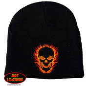 Blackout Skull Knit Cap