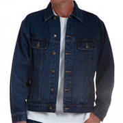 Denim Jacket Antique Navy