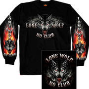Lone Wolf No Club Biker LS