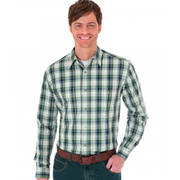 Wrinkle Resist Plaid Shirts