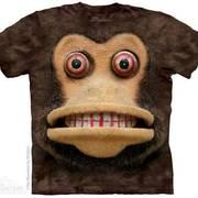 Футболка с обезьяной Big Face Cymbal Monkey