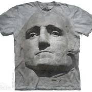 Этническая футболка с коротким рукавом Rock Face Washington