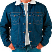 Куртка Sherpa Lined Denim Jacket