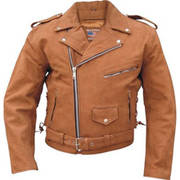 Кожаная мотокуртка Brown Buffalo Motorcycle Jacket