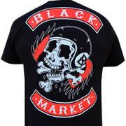 Футболка от Black Market с коротким рукавом Death Ride