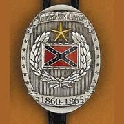 Галстук боло Confederate States Bolo Tie