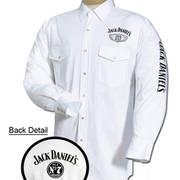 Хлопковая рубашка Jack Daniels White