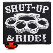 Shut Up and Ride Knuckle