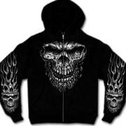 Балахон / Толстовка Shredder Skull Hooded Sweatshirt