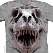 Футболка с изображением черепов T Rex Big Skull