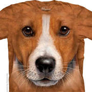 Футболка с собакой Big Face Jack Russell Terrier