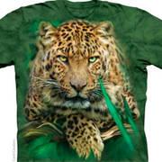 Футболка с леопардом Majestic Leopard