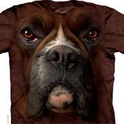 Футболка с собакой Boxer Face