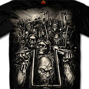 Zombies Shirt Hot Leathers