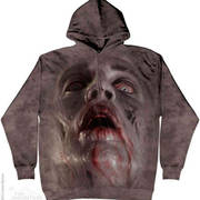 Zombie Face Hoodie