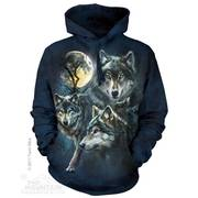 Балахон / Толстовка Moon Wolves Collage Hoodie