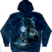 Балахон / Толстовка Bark At The Moon Hoodie