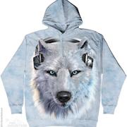 Балахон / Толстовка White Wolf Dj Hoodie