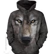 Балахон / Толстовка Wolf Face Hoodie