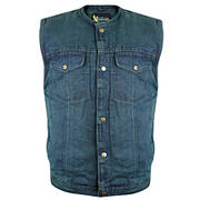 Blue Denim Gun Pocket Vest