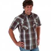 Brown&Grey 20X Short Sleeve Shirt