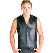 High Grade Cowhide Leather Vest
