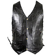 10 Pocket Premium Leather Vest