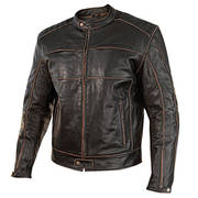 Boone Charcoal Dark Brown Jacket