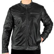 Moto Racer Casual Leather Jacket