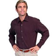Хлопковая рубашка Scully Merlot Shirt