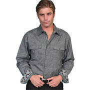 Scully Grey Shirt