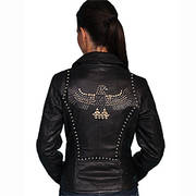 Women's Motorcycle Jacket Scully