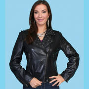 Куртка Women's Black Lamb Jacket Scully