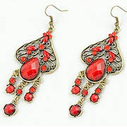 Серьги Fashion Spade Gemstone Earrings