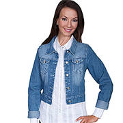 Ladies Denim Jacket Scully