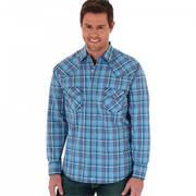 Хлопковая рубашка MJ1347M Wrangler Shirt