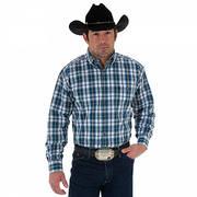 Хлопковая рубашка MGSB034 Wrangler Shirt
