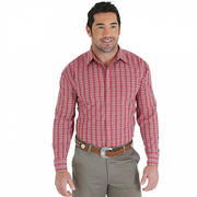 MR2064A Wrangler Shirt Red