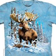 Футболка с оленем/лосём Find 7 Moose