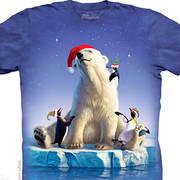 Рождественская футболка Polar Party