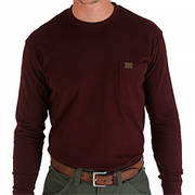 Футболка 3W710BG LS Pocket T-Shirt