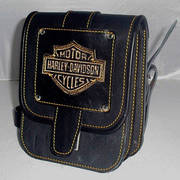 Подсумок кожаный Harley Davidson ОC