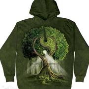 Балахон / Толстовка Yin Yang Tree