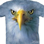 Футболка с изображением птиц Eagle Face