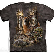 Футболка с оленем/лосём Find 9 Deer