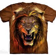 Футболка со львом Beast
